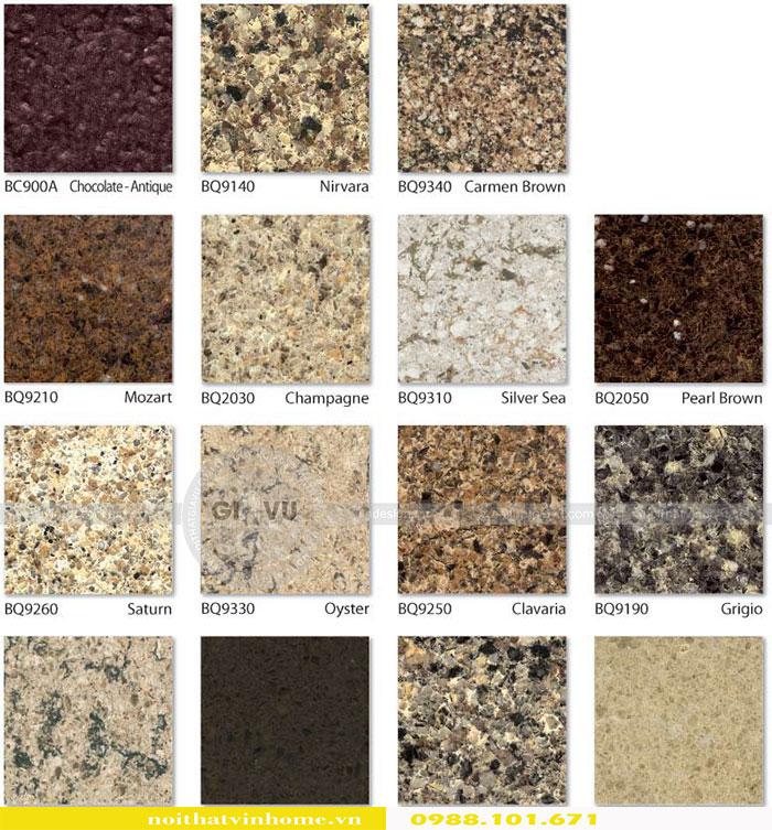 Tổng hợp các mẫu đá Vicostone mới nhất 2018 view 2