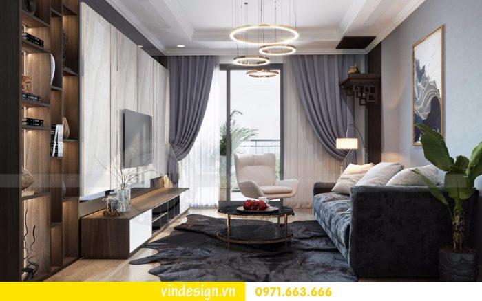 dịch vụ thiết kế thi công nội thất chung cư trọn gói tại Hà Nội 02