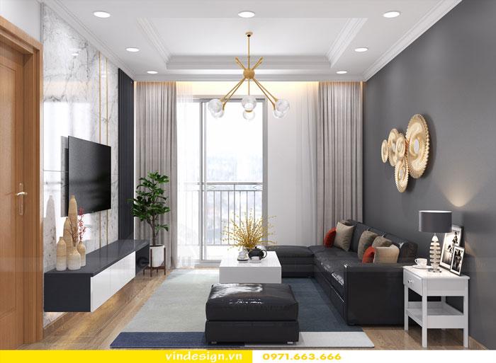 dịch vụ thiết kế thi công nội thất chung cư trọn gói tại Hà Nội 07