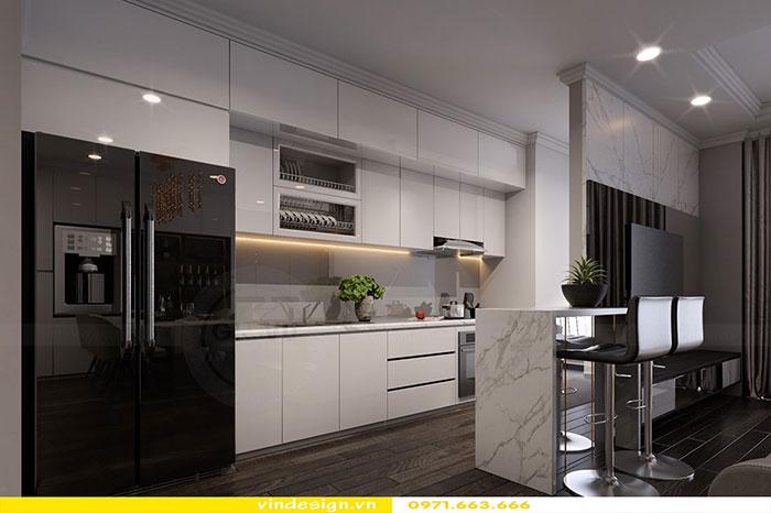dịch vụ thiết kế thi công nội thất chung cư trọn gói tại Hà Nội 09