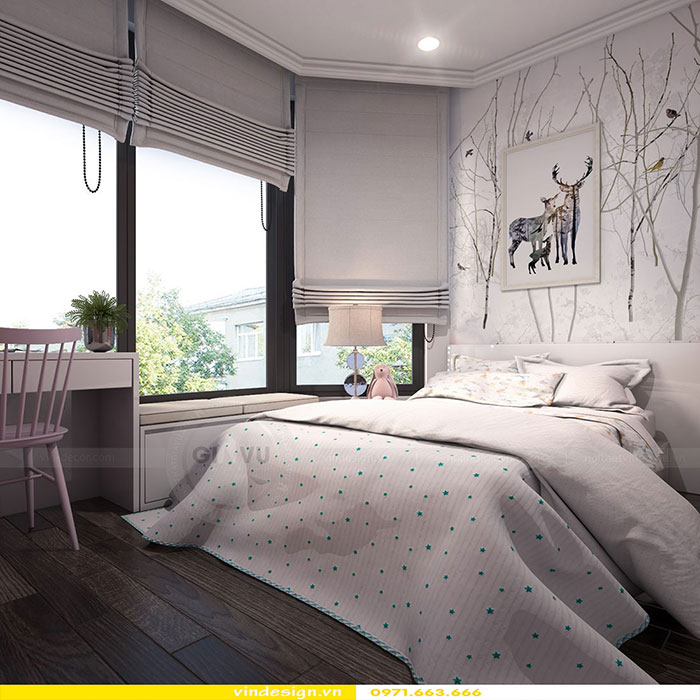 dịch vụ thiết kế thi công nội thất chung cư trọn gói tại Hà Nội 11