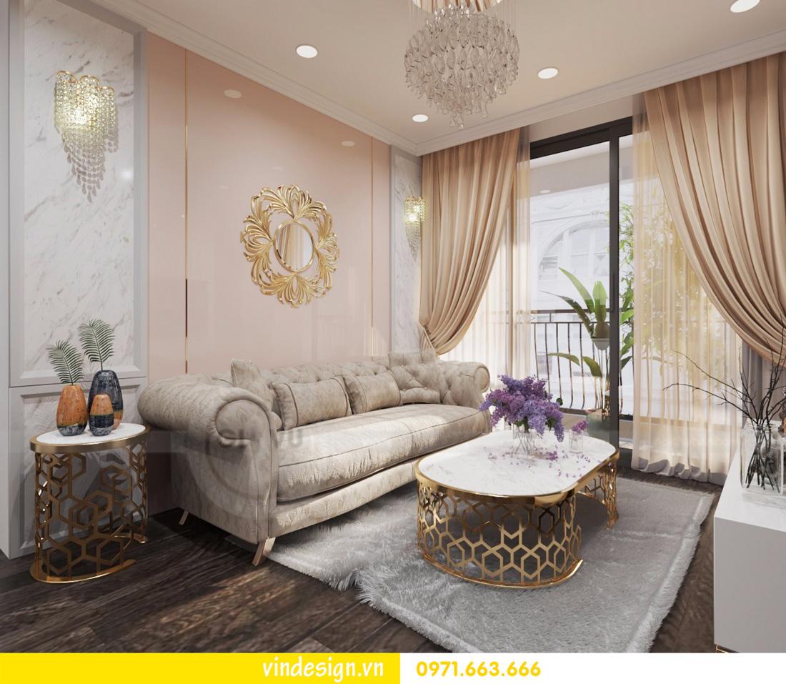 mẫu thiết kế nội thất Vinhomes Gardenia tòa A1 căn 12A 02