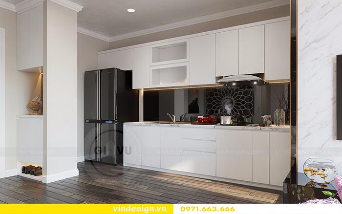 Thiết kế nội thất căn hộ D'Capitale theo phong cách hiện đại 1