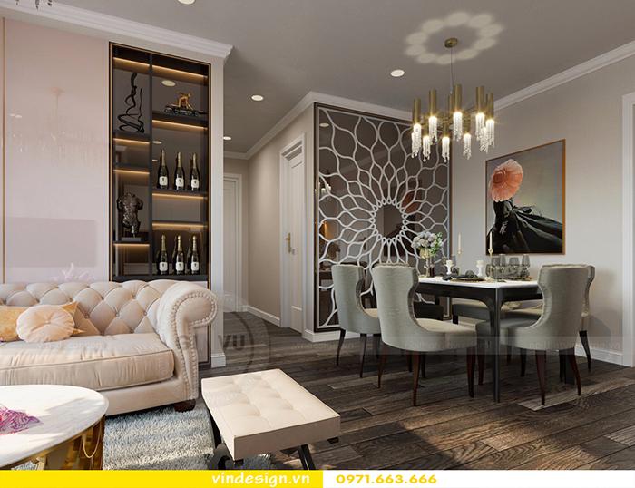 Thiết kế nội thất căn hộ D'Capitale theo phong cách hiện đại 2