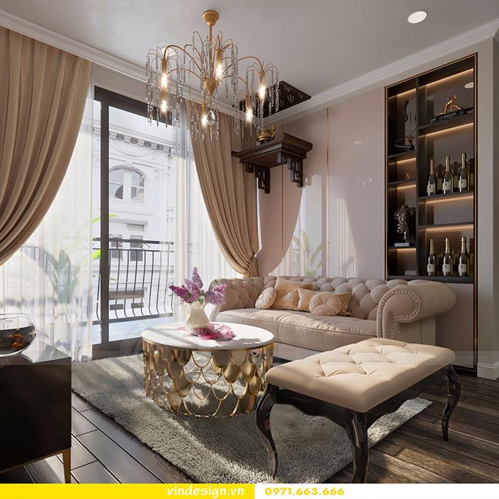 Thiết kế nội thất căn hộ D'Capitale theo phong cách hiện đại 3