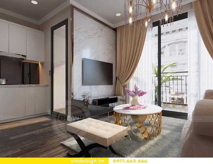 Thiết kế nội thất căn hộ D'Capitale theo phong cách hiện đại 4