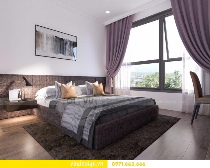 thiết kế nội thất phòng ngủ đẹp sang trọng nội thất Vindesign 02