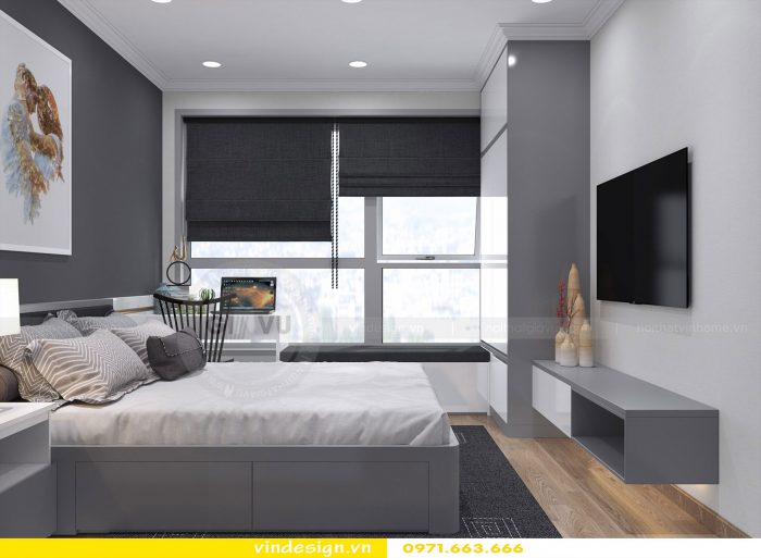 thiết kế nội thất phòng ngủ đẹp sang trọng nội thất Vindesign 04
