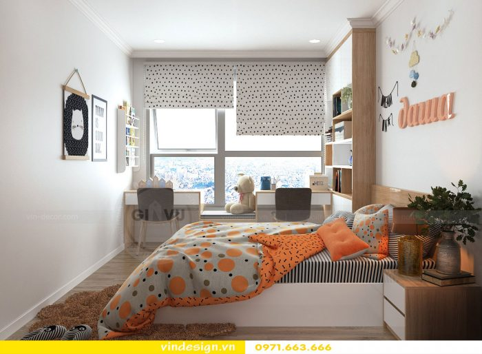 thiết kế nội thất phòng ngủ đẹp sang trọng nội thất Vindesign 05