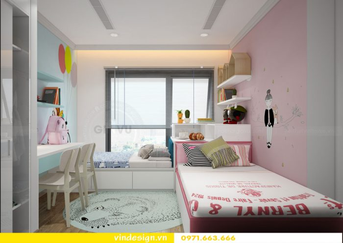 thiết kế nội thất phòng ngủ đẹp sang trọng nội thất Vindesign 10