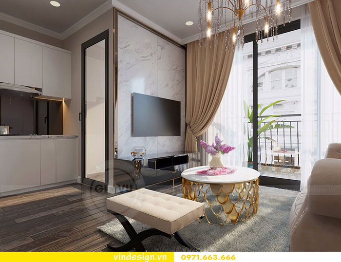 Tổng hợp 18 mẫu thiết kế nội thất phòng khách đẹp 2018 view 2