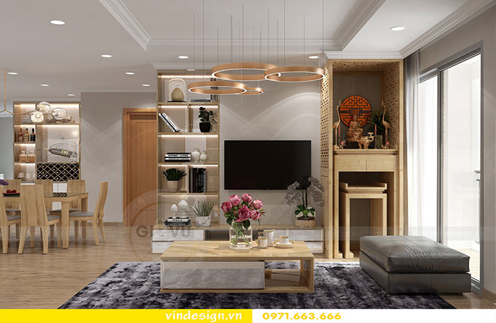 Tổng hợp 18 mẫu thiết kế nội thất phòng khách đẹp 2018 view 21
