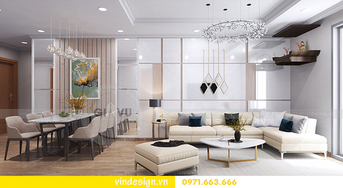 Tổng hợp 18 mẫu thiết kế nội thất phòng khách đẹp 2018 view 30