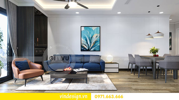 Tổng hợp 18 mẫu thiết kế nội thất phòng khách đẹp 2018 view 32