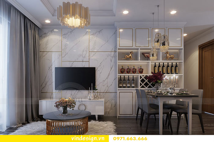Tổng hợp 18 mẫu thiết kế nội thất phòng khách đẹp 2018 view 7