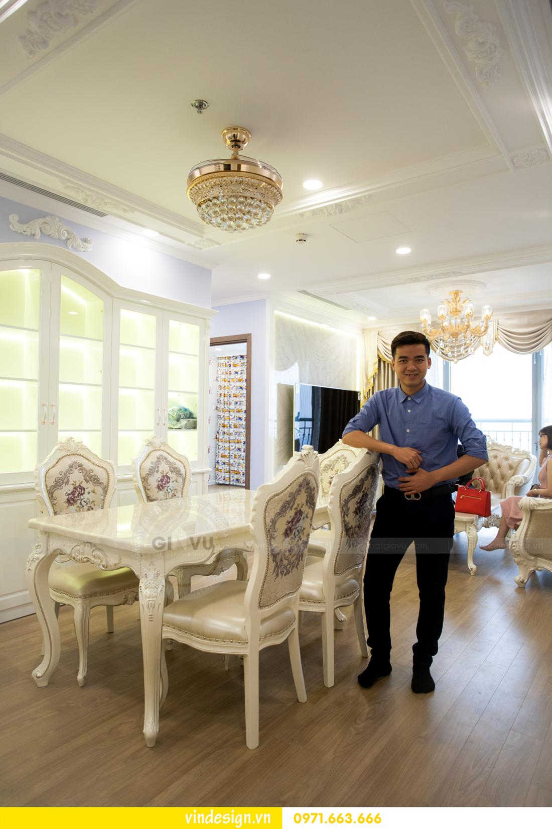 hoàn thiện nội thất chung cư Gardenia tòa A3 căn 05 05