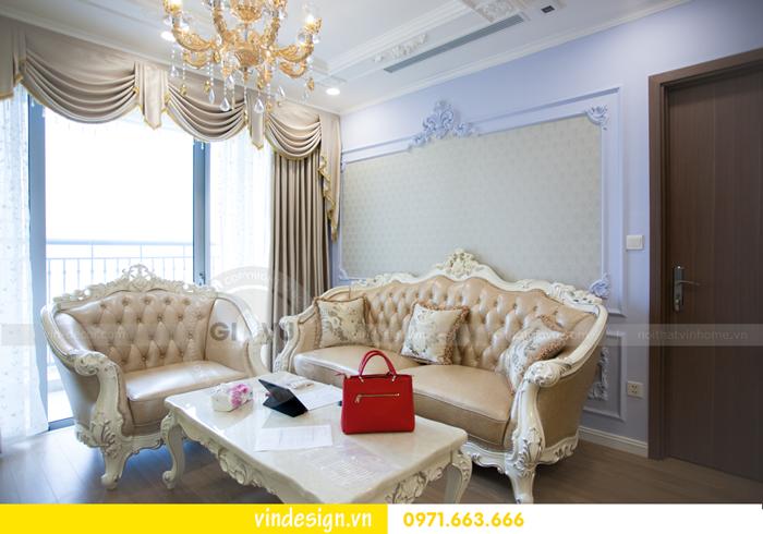 hoàn thiện nội thất chung cư Gardenia tòa A3 căn 05 09