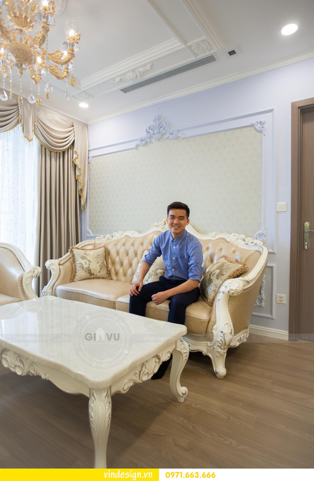 hoàn thiện nội thất chung cư Gardenia tòa A3 căn 05 11