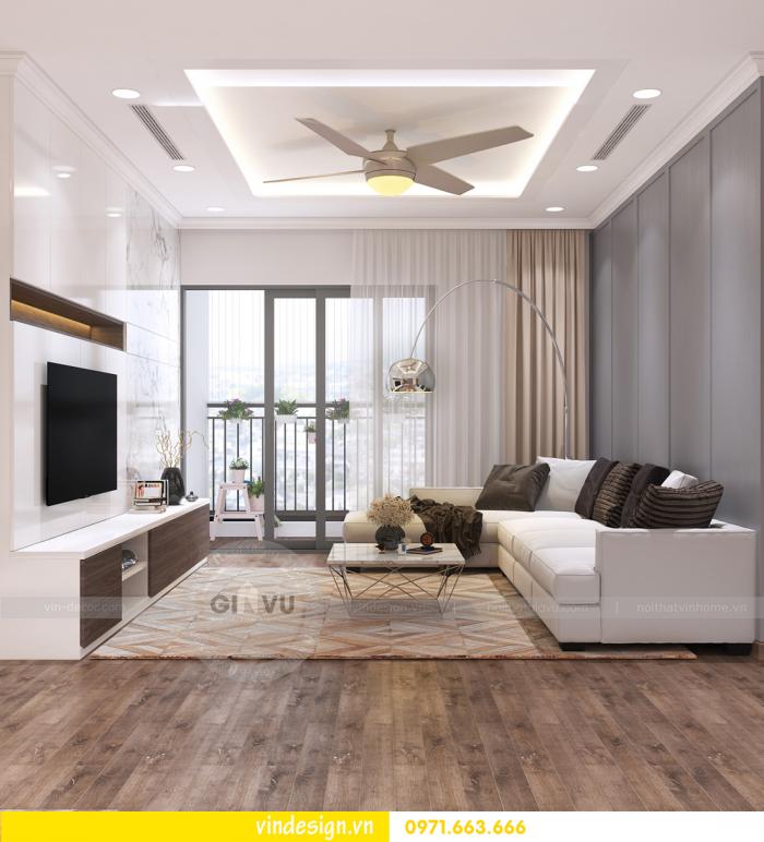 mẫu thiết kế căn hộ D Capitale sang trọng trẻ trung hiện đại 01