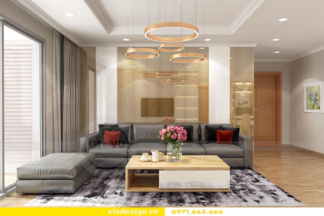 mẫu thiết kế nội thất chung cư Metropolis căn hộ 4 phòng ngủ 04