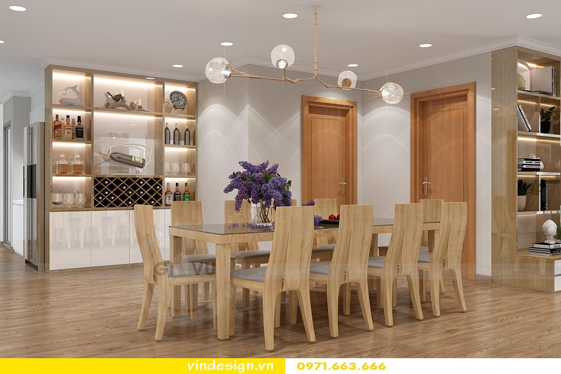 mẫu thiết kế nội thất chung cư Metropolis căn hộ 4 phòng ngủ 05