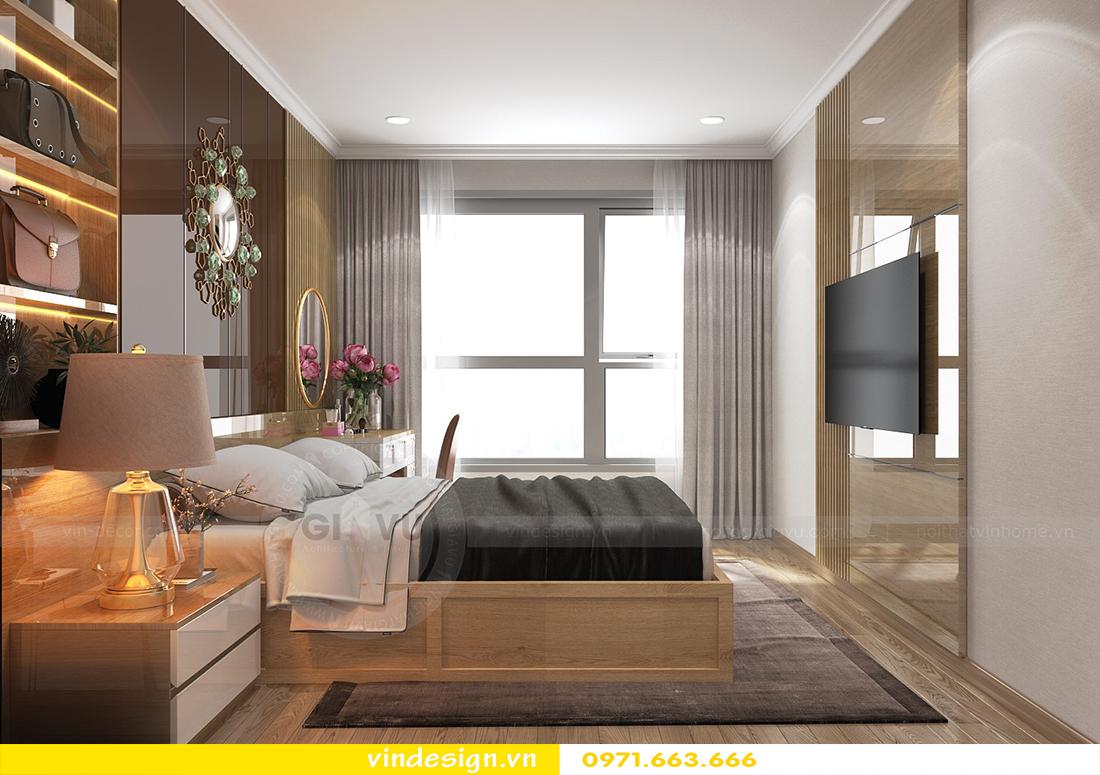 mẫu thiết kế nội thất chung cư Metropolis căn hộ 4 phòng ngủ 06