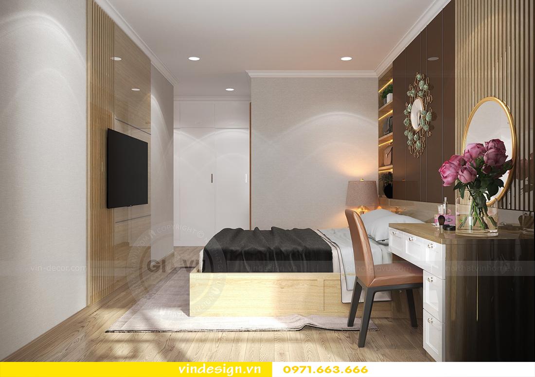mẫu thiết kế nội thất chung cư Metropolis căn hộ 4 phòng ngủ 07