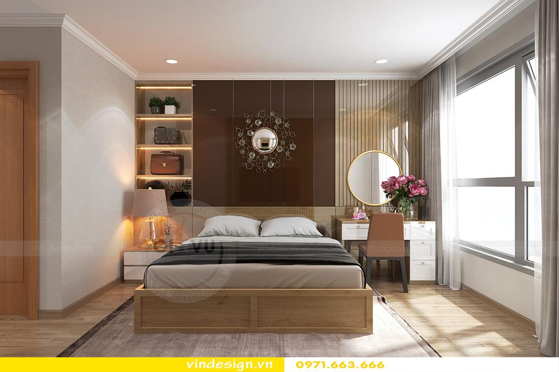 mẫu thiết kế nội thất chung cư Metropolis căn hộ 4 phòng ngủ 08