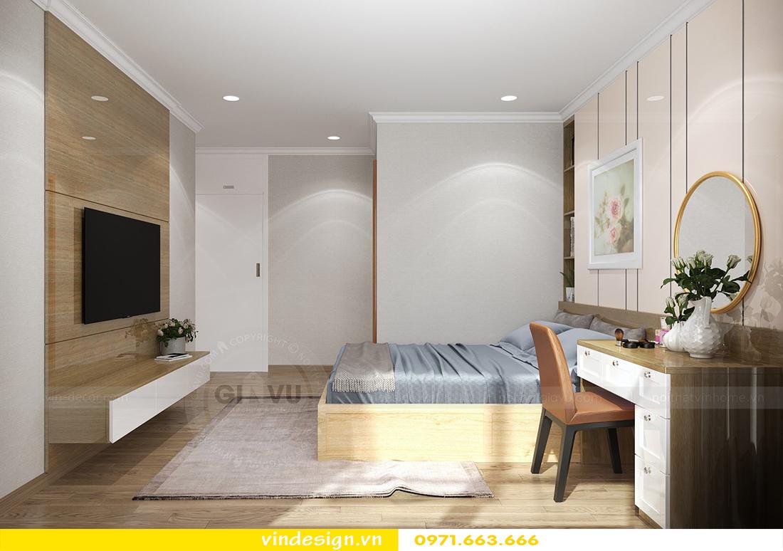 mẫu thiết kế nội thất chung cư Metropolis căn hộ 4 phòng ngủ 09