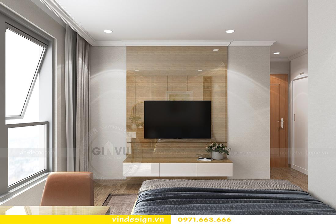 mẫu thiết kế nội thất chung cư Metropolis căn hộ 4 phòng ngủ 10