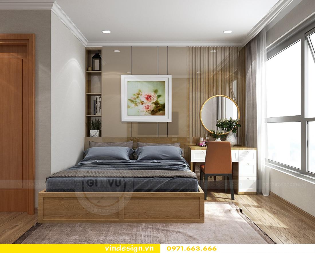 mẫu thiết kế nội thất chung cư Metropolis căn hộ 4 phòng ngủ 11