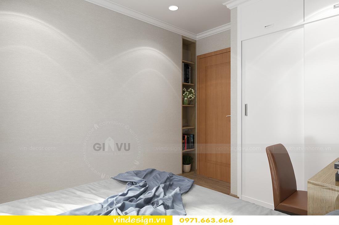 mẫu thiết kế nội thất chung cư Metropolis căn hộ 4 phòng ngủ 12