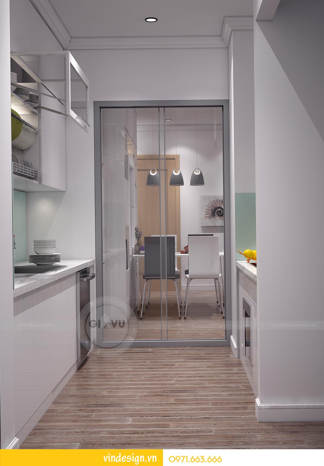 thiết kế nội thất căn hộ Metropolis 2 phòng ngủ hiện đại 06