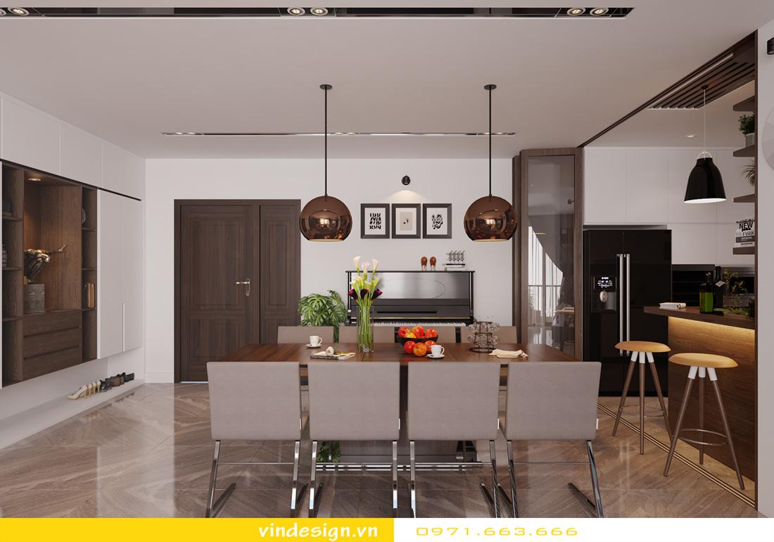 thiết kế nội thất chung cư Metropolis căn hộ 3 phòng ngủ 04