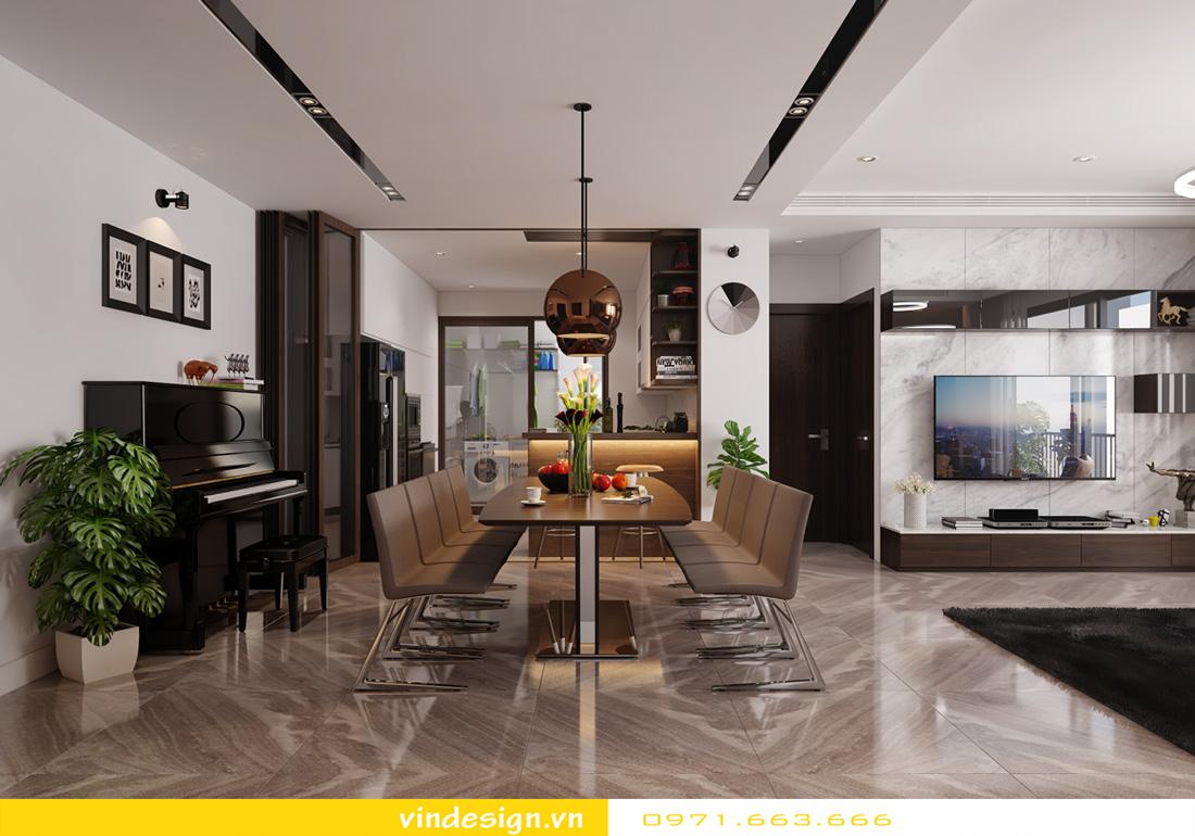 thiết kế nội thất chung cư Metropolis căn hộ 3 phòng ngủ 05