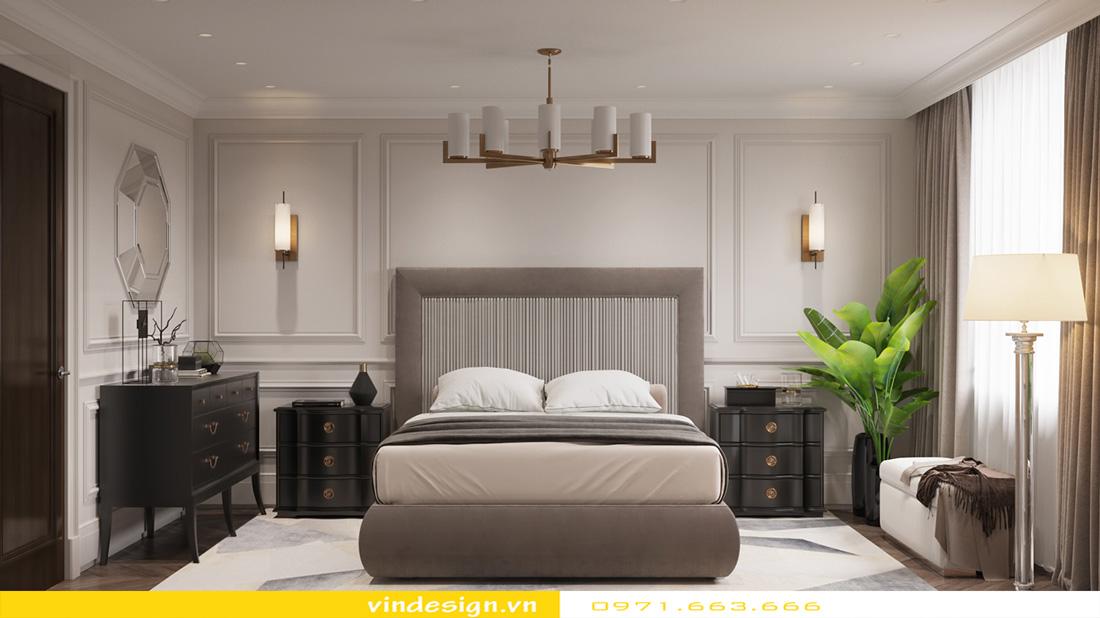 thiết kế nội thất chung cư Metropolis căn hộ 3 phòng ngủ 08