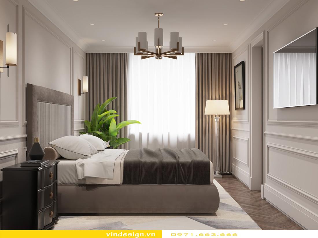 thiết kế nội thất chung cư Metropolis căn hộ 3 phòng ngủ 09