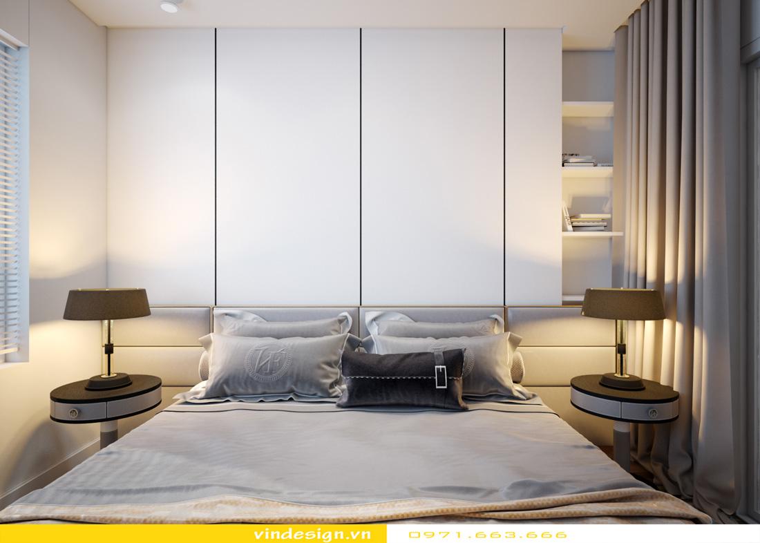 thiết kế nội thất chung cư Metropolis căn hộ 3 phòng ngủ 10
