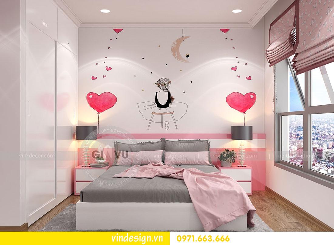 thiết kế nội thất chung cư Metropolis căn hộ 3 phòng ngủ 11
