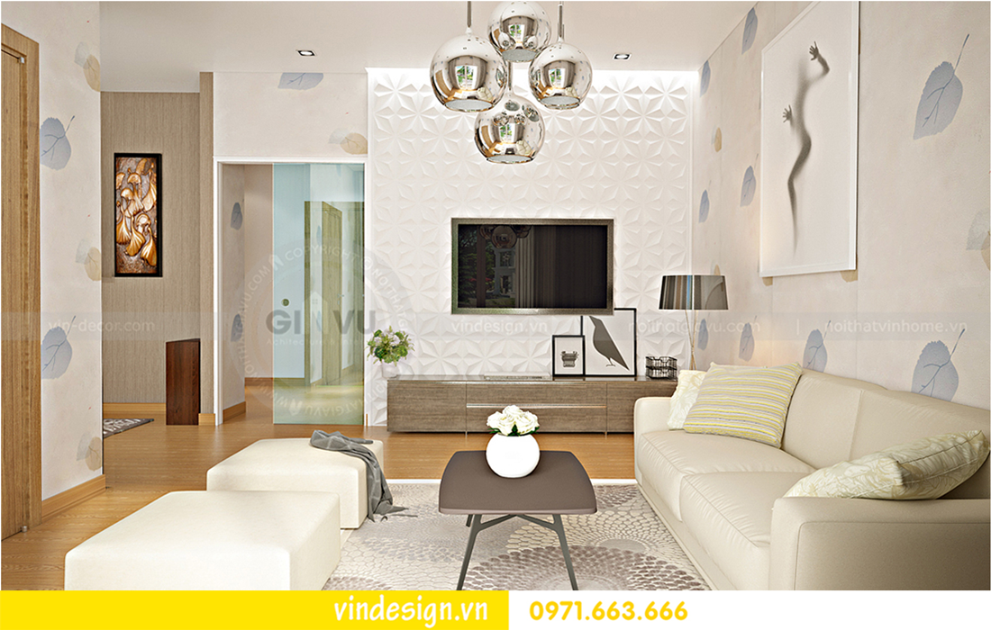 thiết kế nội thất Vinhomes Riverside Anh Đào 03-21 006