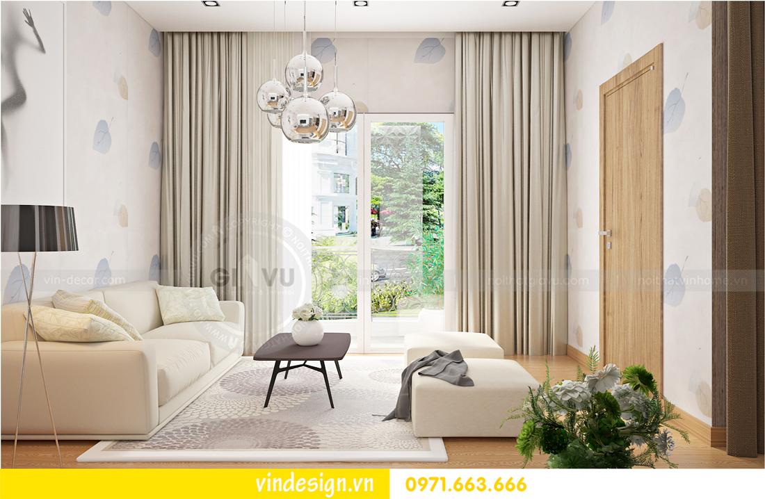thiết kế nội thất Vinhomes Riverside Anh Đào 03-21 05