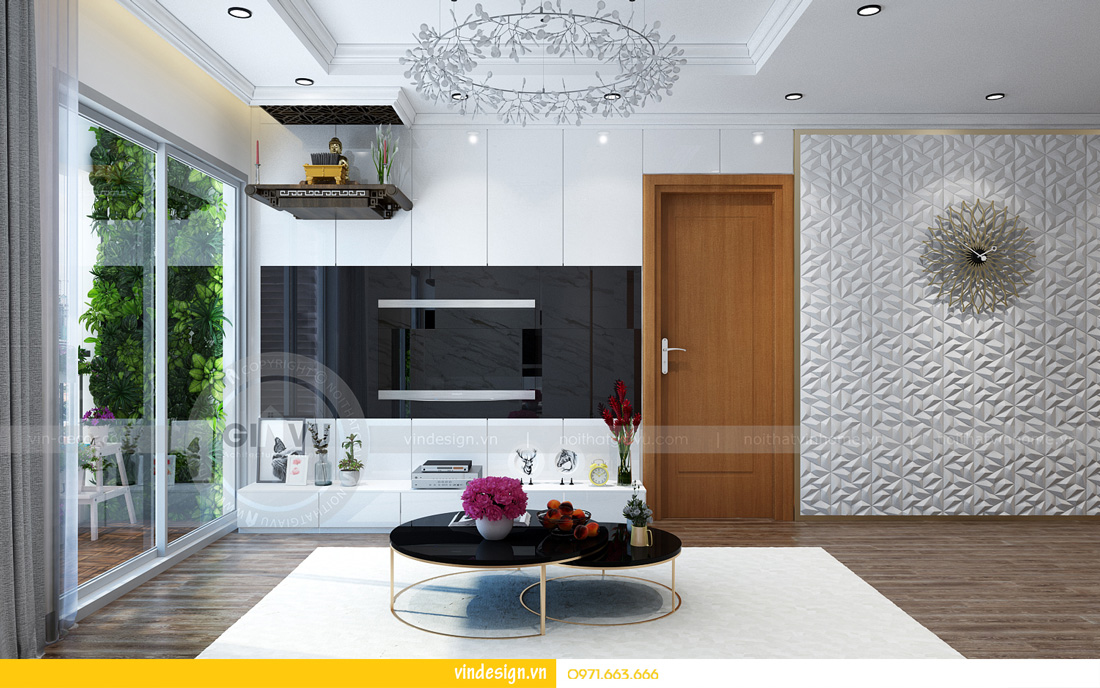 thiết kế thi công nội thất Vinhomes Metropolis 0971663666 02
