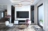 thiết kế nội thất chung cư Imperial Plaza 360 Giải Phóng IP1 CH 06 1