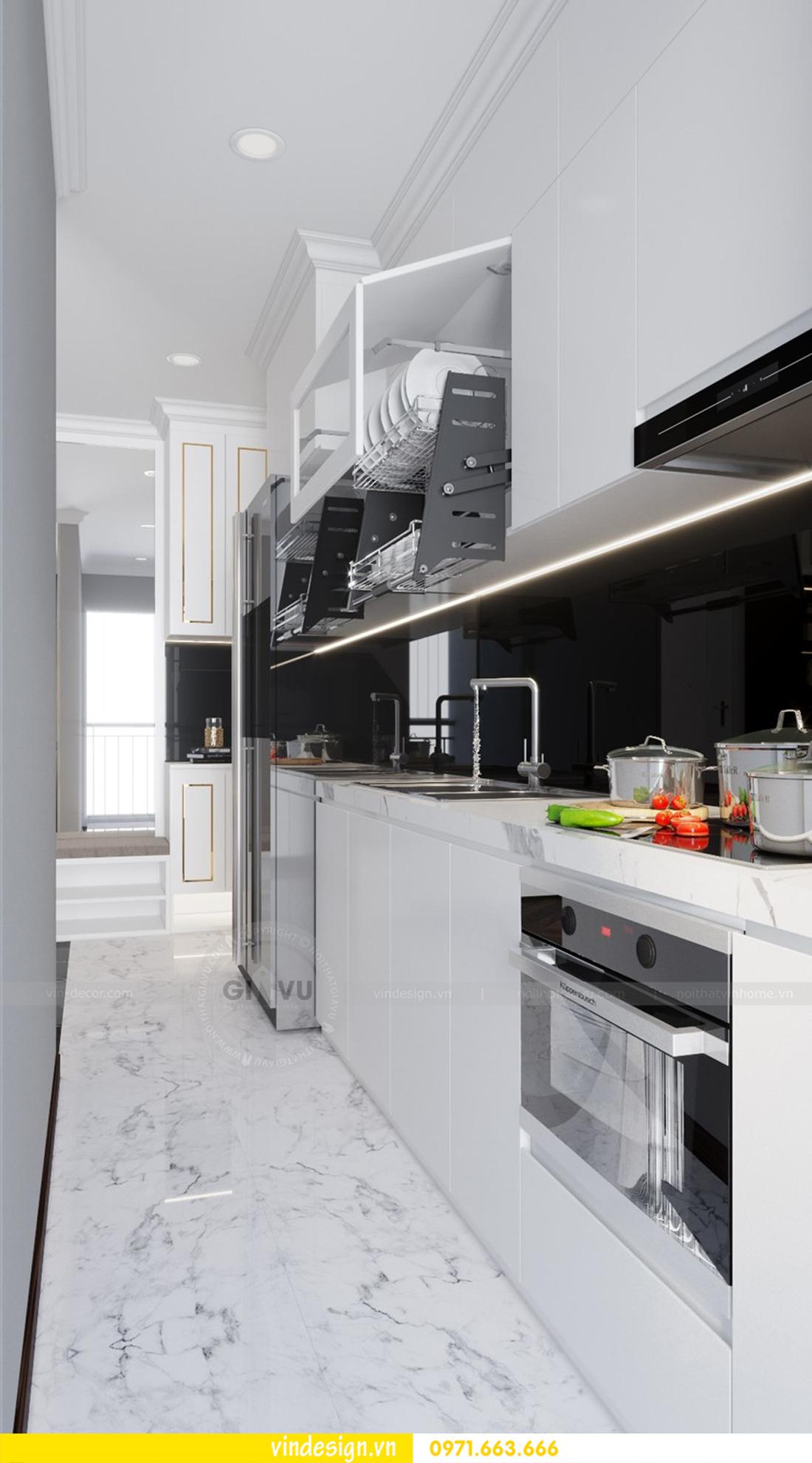 thiết kế nội thất chung cư D Capitale căn 09 tòa C1 07