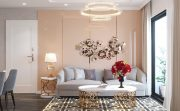 thiết kế nội thất chung cư D Capitale căn hộ 07 tòa C1