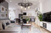 thiết kế nội thất chung cư Seasons Avenue theo phong cách Scandinavian