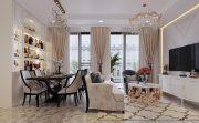 thiết kế nội thất căn hộ 11 tòa c1 Vinhomes D Capitale