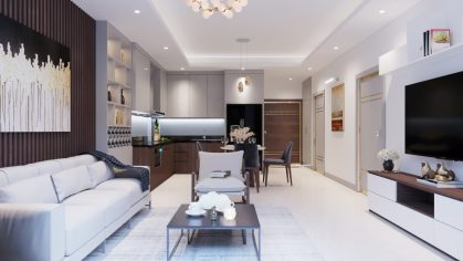mẫu thiết kế nội thất chung cư 69B Thụy Khuê anh Thanh