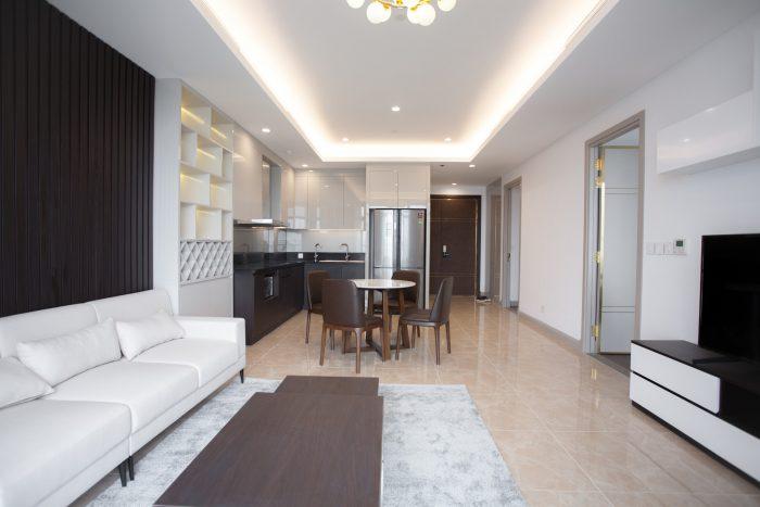 thi công nội thất chung cư 2 phòng ngủ 69B Thụy Khuê