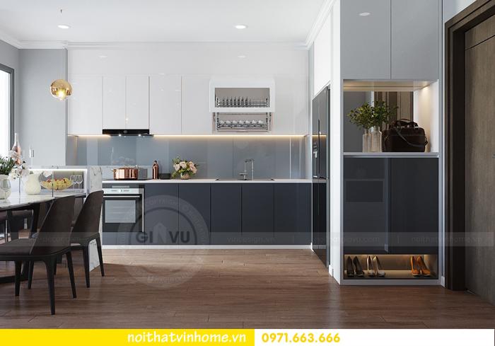 thiết kế căn hộ chung cư Vinhomes Metropolis tòa M3 căn 07 nhà chị Phương 01
